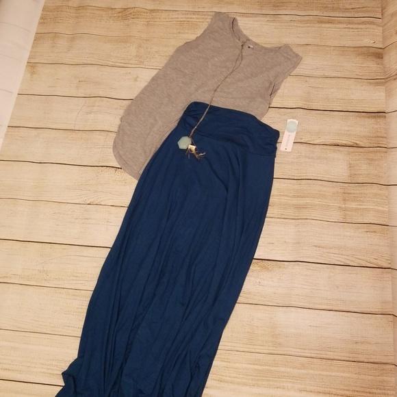ad5c9da81d Renee C. Skirts   Renee Co Ashton Maxi Skirt   Poshmark